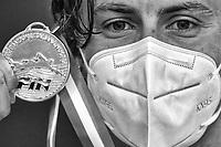 MARTINENGHI Nicolo Italian Champion<br /> 100m Breaststroke Men<br /> Roma 11/08/2020 Foro Italico <br /> FIN 57 Trofeo Sette Colli 2020 Internazionali d'Italia<br /> Photo Andrea Staccioli/DBM/Insidefoto