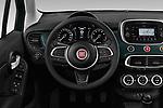 Car pictures of steering wheel view of a 2019 Fiat 500-X Cross 5 Door SUV Steering Wheel