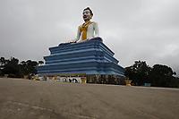 Buddha statue near Bokor<br /> , Cambodia<br /> <br /> PHOTO :  Agence Quebec Presse<br /> <br /> <br /> <br /> <br /> <br /> PHOTO : Agence Quebec Presse