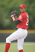 August 14, 2008: Jeremy Vinyard (29) of the GCL Reds.  Photo by: Chris Proctor/Four Seam Images