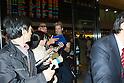 Chad Kroeger arrives in Japan