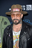 "LOS ANGELES, USA. December 17, 2019: AJ McLean at the world premiere of ""Star Wars: The Rise of Skywalker"" at the El Capitan Theatre.<br /> Picture: Paul Smith/Featureflash"