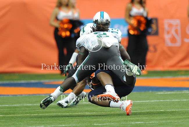 Tulane visits Syracuse and the Carrier Dome and falls, 52-17.