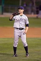 August 24, 2010: Tri-City Dust Devils pitcher Josh Hungerman (46) during a Northwest League game against the Everett AquaSox at Everett Memorial Stadium in Everett, Washington.