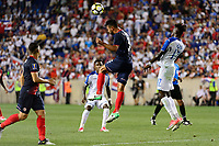 Harrison, NJ - Friday July 07, 2017: Giancarlo González during a 2017 CONCACAF Gold Cup Group A match between the men's national teams of Honduras (HON) vs Costa Rica (CRC) at Red Bull Arena.
