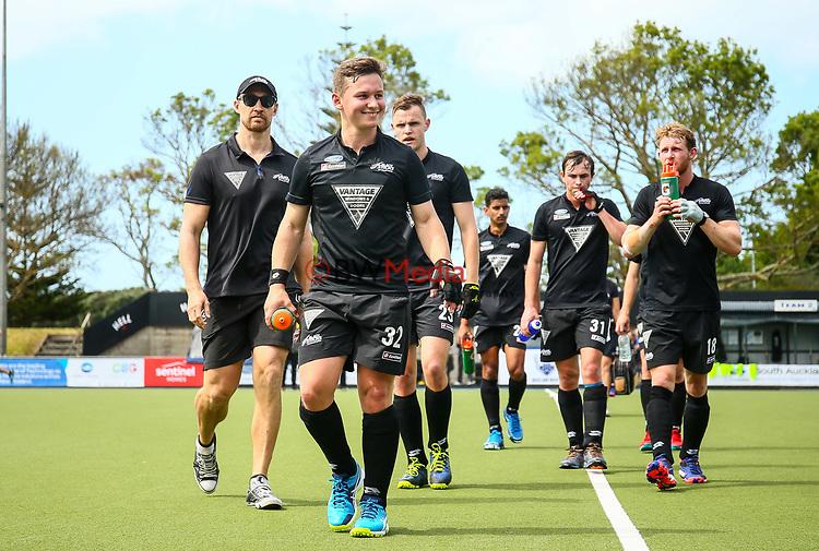 Mackenzie Wilcox. International Hockey, Blacksticks men v Canada. Lloyd Elsmore Park, Auckland, New Zealand. Saturday 20 October 2018. Photo: Simon Watts/Hockey NZ