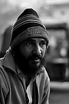 Jeetu Singh is an Auto rickshaw driver. He drives a rented auto. His father Kundan Singh was killed in front of his eyes in the 1984 Sikh Genocide. Till date he regularly gets nightmares of that day and he too like many others is suffering from depression for the last 15 years. He lives in Tilak Vihar with his family. Tilak Vihar in New Delhi is called the widow colony. Widows and children of the Sikhs who were killed in 1984 Sikh Genocide live here. Four thousand Sikhs were killed in 72 hours in Delhi alone but no body till date has been punished for such an inhuman crime. Illiteracy, drug addiction, child labour and immense poverty characterize the area. Twenty five years ago all the male family members above the age of 15 were killed and burnt, leaving their uneducated widows and children behind to suffer, even after 25 years. The present generation is jobless, steeped in alcoholism and have lost their directions in life. November 2009. New Delhi, India, Arindam Mukherjee