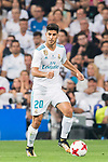 Marco Asensio Willemsen of Real Madrid in action during their Supercopa de Espana Final 2nd Leg match between Real Madrid and FC Barcelona at the Estadio Santiago Bernabeu on 16 August 2017 in Madrid, Spain. Photo by Diego Gonzalez Souto / Power Sport Images