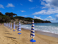 Spiaggia Lido am Golfo Stella, Elba, Region Toskana, Provinz Livorno, Italien, Europa<br /> Beach Spiaggia Lido at Golfo Stella, Elba, Region Tuscany, Province Livorno, Italy, Europe