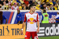 Harrison, NJ - Wednesday July 06, 2016: Florian Valot during a friendly match between the New York Red Bulls and Club America at Red Bull Arena.