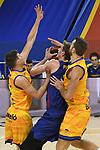 League ACB-ENDESA 2020/2021 - Game: 13.<br /> FC Barcelona Lassa vs Herbalife Gran Canaria: 91-63.<br /> Artem Pustovyi.
