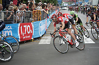 Maxime Monfort (BEL/Lotto-Soudal) in the local laps around Milano<br /> <br /> Giro d'Italia 2015<br /> final stage 21: Torino - Milano (178km)
