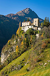 Austria, East-Tyrol, Tauern Valley, Matrei in East-Tyrol: Castle Weissenstein | Oesterreich, Osttirol, Tauerntal,  Matrei in Osttirol: Schloss Weissenstein