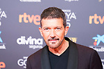 Antonio Banderas attends the red carpet previous to Goya Awards 2021 Gala in Malaga . March 06, 2021. (Alterphotos/Francis González)