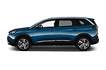 Car driver side profile view of a 2017 Peugeot 5008 GT Line 5 Door SUV