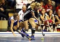 Sunelle LUDWIG, Friderike Schlenker /   /        /   <br /> / Sport / Hockey Hnhockey / World Championships Weltmeisterschaft Damen /  2017/2018 / 07.02.2018 / GER BRGermany vs. Namibia  *** Local Caption *** © pixathlon<br /> Contact: +49-40-22 63 02 60 , info@pixathlon.de