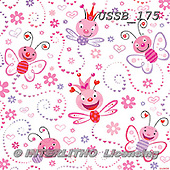 Sarah, GIFT WRAPS, GESCHENKPAPIER, PAPEL DE REGALO, paintings+++++LoveBugs-13-A,USSB175,#GP# ,everyday