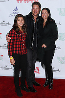HOLLYWOOD, CA - DECEMBER 01: Simone Andrea Kanan, Sean Kanan, Michele Kanan arriving at the 82nd Annual Hollywood Christmas Parade held at Hollywood Boulevard on December 1, 2013 in Hollywood, California. (Photo by Xavier Collin/Celebrity Monitor)