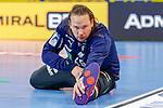 Nikolas Katsigiannis (Rhein Neckar Löwen Nr.55) - beim Bundesligaspiel: Rhein Neckar Loewen gegen SC DHfK Handball Leipzig am 15.10.2020 in der SAP-Arena in Mannheim<br /> <br /> Foto © PIX-Sportfotos *** Foto ist honorarpflichtig! *** Auf Anfrage in hoeherer Qualitaet/Aufloesung. Belegexemplar erbeten. Veroeffentlichung ausschliesslich fuer journalistisch-publizistische Zwecke. For editorial use only.