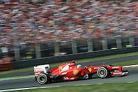 SPANISH FERNANDO ALONSO ON FERRARI F2012. .Monza 9/9/2012 .Formula 1.Foto Insidefoto / Bernard Asset / Panoramic .Italy Only