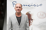 Argentinian actor Dario Grandinetti poses during `Francisco´ film presentation in Madrid, Spain. September 15, 2015. (ALTERPHOTOS/Victor Blanco)