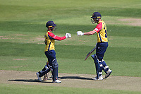 Adam Wheater and Tom Westley of Essex during Hampshire Hawks vs Essex Eagles, Vitality Blast T20 Cricket at The Ageas Bowl on 16th July 2021
