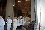 MESSA DI RINGRAZIAMENTO PER I 50 ANNI DI SACERDOZIO DEL CARDINAL CAMILLO RUINI - SAN GIOVANNI IN LATERANO ROMA 2004
