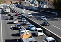 Japan New Year holiday traffic congestion