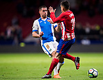 Gabriel Appelt Pires (L) of CD Leganes fights for the ball with Angel Correa of Atletico de Madrid during the La Liga 2017-18 match between Atletico de Madrid and CD Leganes at Wanda Metropolitano on February 28 2018 in Madrid, Spain. Photo by Diego Souto / Power Sport Images