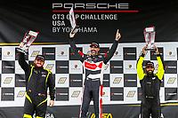 Race 1, Gold Podium, #5 Moorespeed, Porsche 991 / 2016, GT3G: Rob Ferriol, #27 NGT Motorsport, Porsche 991 / 2017, GT3G: Sebastian Carazo, #65 ACI Motorsports, Porsche 991 / 2016, GT3G: Efrin Castro