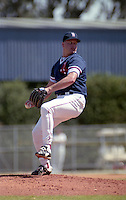 Boston Red Sox pitcher Roger Clemens (24) during spring training circa 1991 at Chain of Lakes Park in Winter Haven, Florida.  (MJA/Four Seam Images)