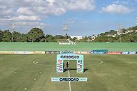 Saquarema (RJ), 26/03/2021 - FLUMINENSE-VOLTA REDONDA - Partida entre Fluminense e Volta Redonda, válida pela sexta rodada da Taça Guanabara, realizada no Estádio Elcyr Resende de Mendonça, distrito de Bacaxá, Saquarema (RJ), nesta sexta-feira (26).