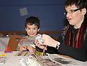 14/12/2010   Copyright  Pic : Lisa Ferguson / JSP.001_christmas_seminar_2010  .::  FALKIRK COUNCIL ::  LITTER STRATEGY :: CHRISTMAS SEMINAR 2010 :: CHRISTMAS DECORATIONS ARE MADE FROM LITTER ::.
