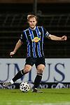 13.01.2021, xtgx, Fussball 3. Liga, VfB Luebeck - SV Waldhof Mannheim emspor, v.l. Marcel Seegert (Mannheim, 5) Freisteller, Einzelbild, Ganzkoerper, single frame <br /> <br /> (DFL/DFB REGULATIONS PROHIBIT ANY USE OF PHOTOGRAPHS as IMAGE SEQUENCES and/or QUASI-VIDEO)<br /> <br /> Foto © PIX-Sportfotos *** Foto ist honorarpflichtig! *** Auf Anfrage in hoeherer Qualitaet/Aufloesung. Belegexemplar erbeten. Veroeffentlichung ausschliesslich fuer journalistisch-publizistische Zwecke. For editorial use only.