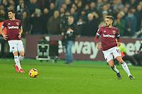 Manuel Lanzini of West Ham United during West Ham United vs Fulham, Premier League Football at The London Stadium on 22nd February 2019