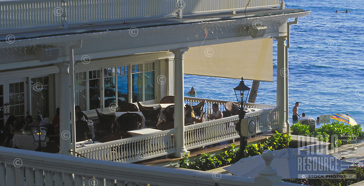 Afternoon Tea at the Sheraton Moana Surfrider, Waikiki's historic hotel