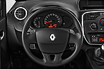 Steering wheel view of a 2013 - 2014 Renault Kangoo eXtrem Mini MPV.