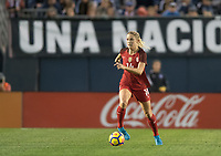 San Diego, Ca - Sunday, January 21, 2018: Abby Dahlkemper during a USWNT 5-1 victory over Denmark at SDCCU Stadium.