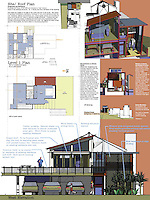 Zachary Adams, Architect, submitted an ADU design in the Professional category of FSDA's ADU Competition 2004. Board 2.