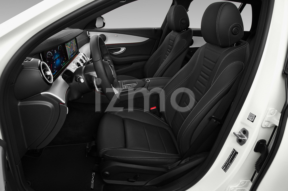 Front seat view of 2021 Mercedes Benz E-Class AMG-Line 5 Door Wagon Front Seat  car photos