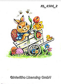 EASTER, OSTERN, PASCUA, paintings+++++,KL4586/2,#e#, EVERYDAY ,rabbit,rabbits