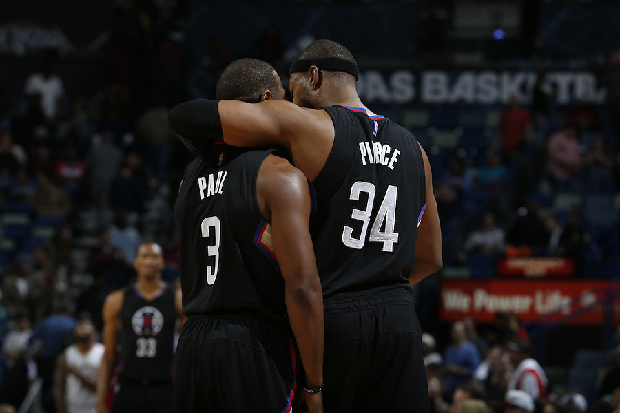 NEW ORLEANS, LA - DECEMBER 31:  during an NBA game on December 31, 2015 at the Smoothie King Center in New Orleans, Louisiana. NOTE TO USER: User expressly acknowledges and agrees that, by downloading and or using this Photograph, user is consenting to the terms and conditions of the Getty Images License Agreement. Mandatory Copyright Notice: Copyright 2015 NBAE (Photo by Jonathan Bachman/NBAE via Getty Images