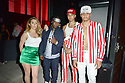 MIAMI, FL - JULY 09: Mariam Feroian, Jeremiah Campbell, Recording artist Jonny Dilakian and Aaron Dilaikian of JNA pose for picture during Miami Swim week JNA after party single release event at Racket Wynwood on July 9, 2021 in Miami, Florida.  ( Photo by Johnny Louis / jlnphotography.com )