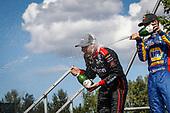 Will Power, Team Penske Chevrolet, podium, champagne, Alexander Rossi, Andretti Autosport Honda