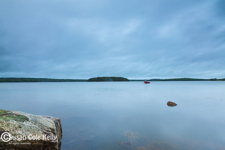 Taunton Bay in Hancock County, Maine, USA