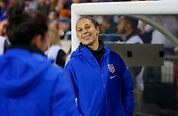 HOUSTON, TX - JANUARY 31: Carli Loyd #10 of the United States during a game between Panama and USWNT at BBVA Stadium on January 31, 2020 in Houston, Texas.