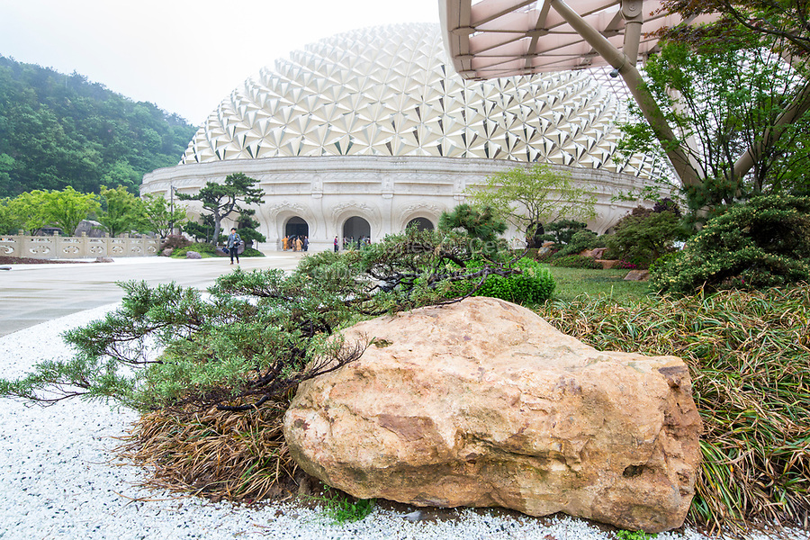Nanjing, Jiangsu, China.  Usnisa Palace, Niushou Mountain.