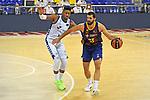 League ACB-ENDESA 2020/2021 - Game: 1.<br /> Barça vs Hereda San Pablo Burgos: 89-86.<br /> Jasiel Rivero vs Nikola Mirotic.