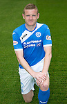 St Johnstone FC photocall Season 2016-17<br />Brian Easton<br />Picture by Graeme Hart.<br />Copyright Perthshire Picture Agency<br />Tel: 01738 623350  Mobile: 07990 594431