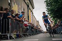 Julian Alaphilippe (FRA/Quick Step Floors) at the Team presentation in La Roche-sur-Yon<br /> <br /> Le Grand Départ 2018<br /> 105th Tour de France 2018<br /> ©kramon